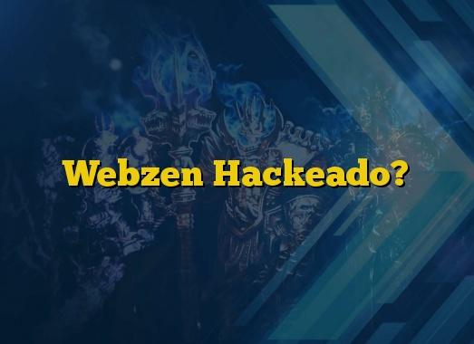 Webzen Hackeado?