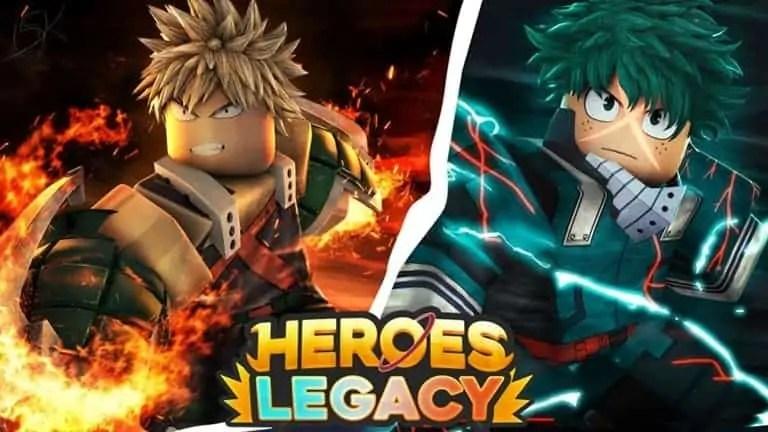 Roblox Heroes Legacy - Lista de Códigos (Junio 2021)