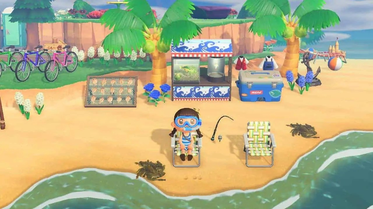 como conseguir algas marinas en animal crossing new horizons