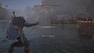 como funciona la pesca en assassins creed valhalla