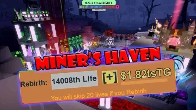 Roblox Miner's Haven Reincarnation - Lista de Códigos (Junio 2021)