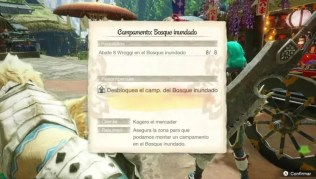 Campamento Bosque inundado – Abate 8 Wroggi en Monster Hunter Rise