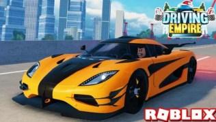 Roblox Driving Empire - Lista de Códigos Mayo 2021