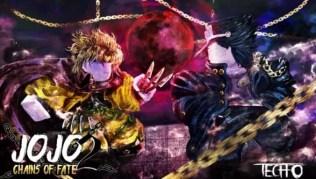 Roblox Jojo Chains of Fate 2 - Lista de Códigos Junio 2021