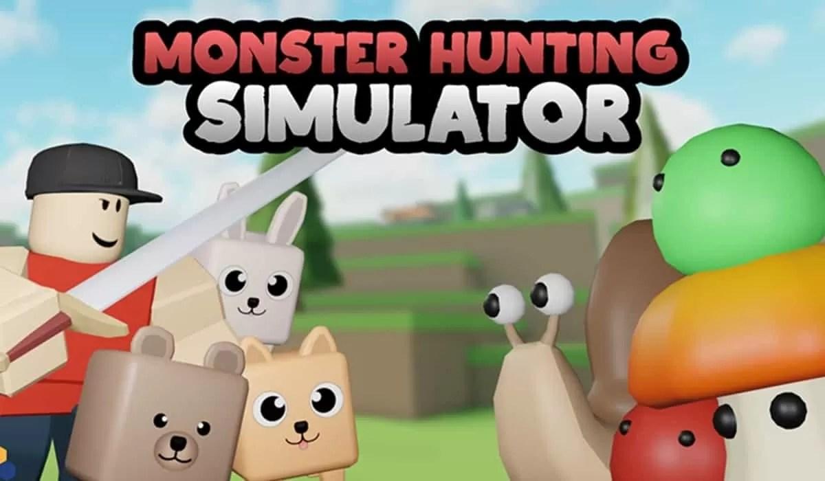Roblox Monster Hunting Simulator - Lista de Códigos Junio 2021