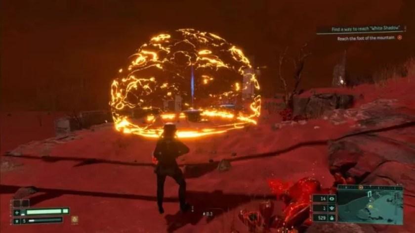 Cómo destruir los escudos de energía amarillos en Returnal