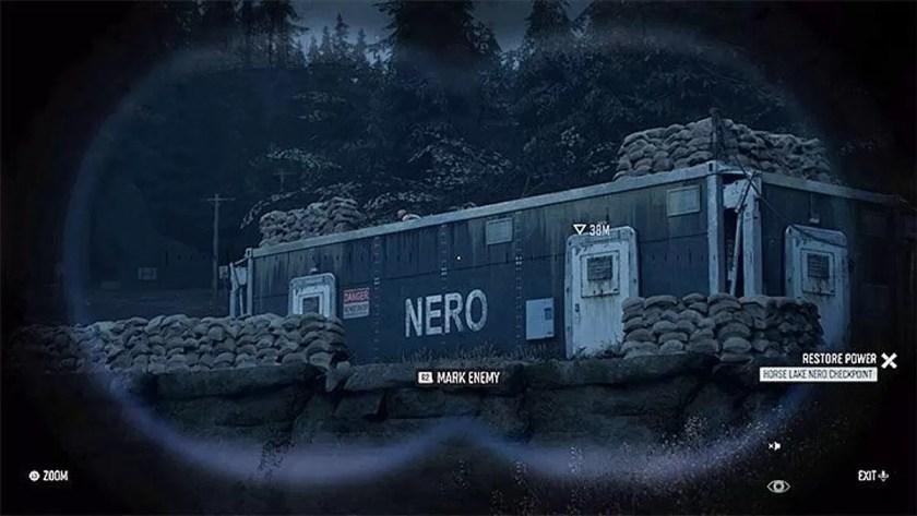 Days Gone Cómo ingresar al Nero Checkpoint