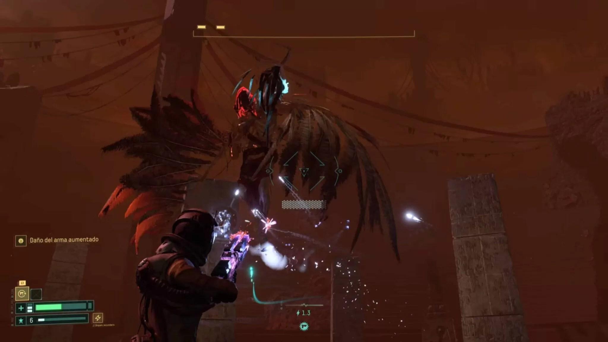 Returnal - Cómo derrotar al segundo jefe, Ixion