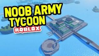 Roblox Noob Army Tycoon - Lista de Códigos Junio 2021