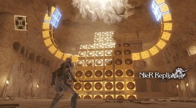 NieR Replicant Remaster – Misión secundaria Sombras del desierto