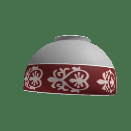 Upside-down China bowl