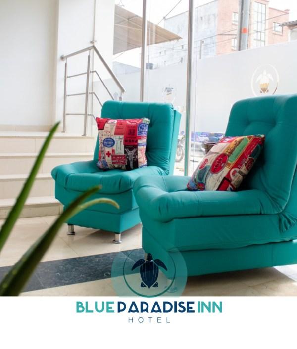 Lobby del hotel - Hotel Blue Paradice