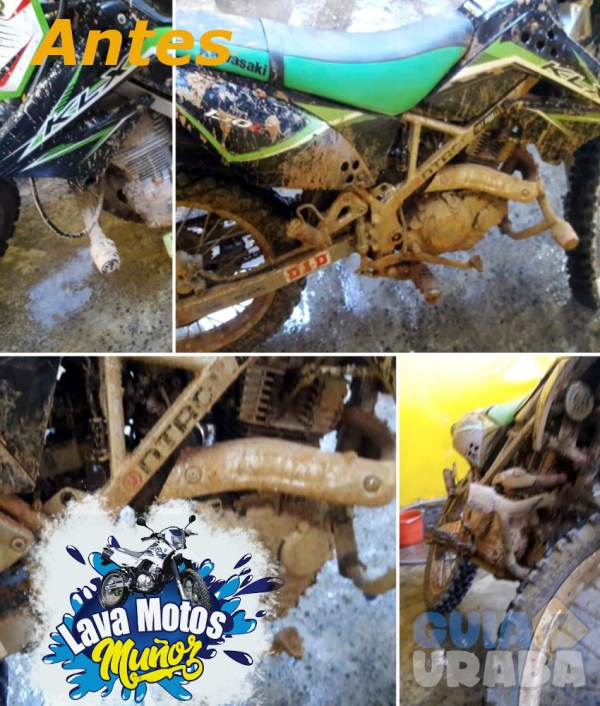 Lava motos y cascos muñoz