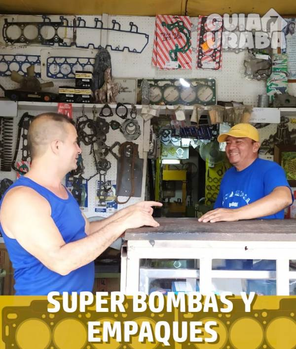 Super bombas y empaques