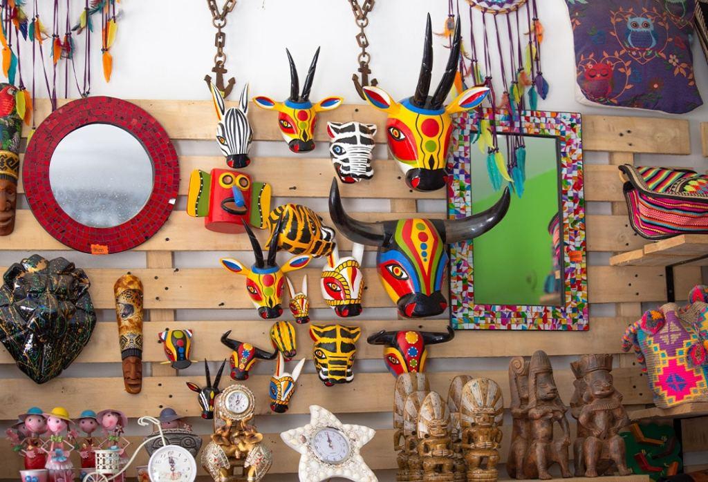 Artesanías en Necoclí