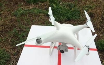 La tête dans les nuages… Premiers essais au drone.