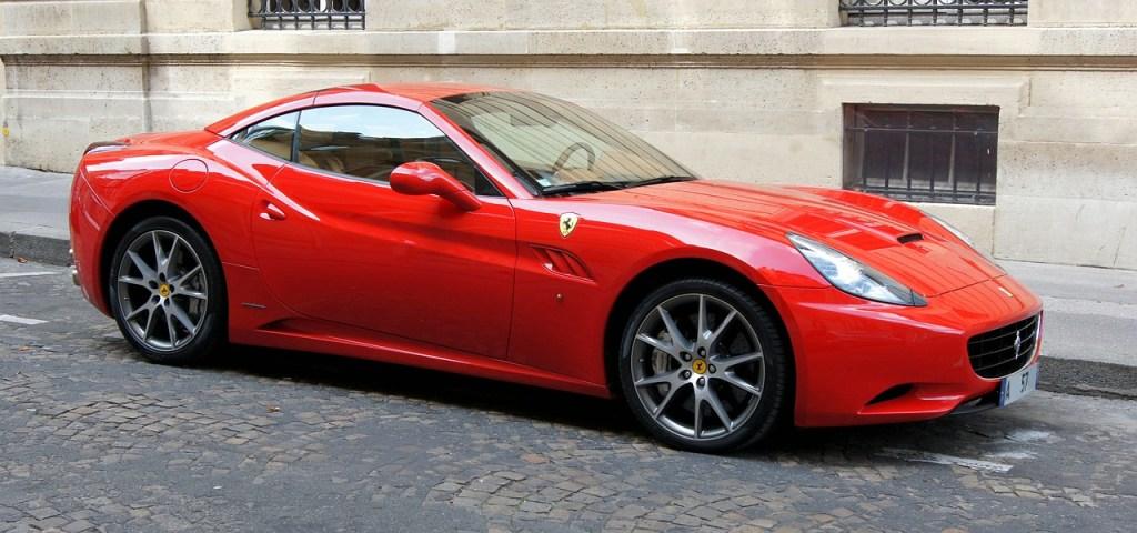 Ferrari California, foto da Pixabay