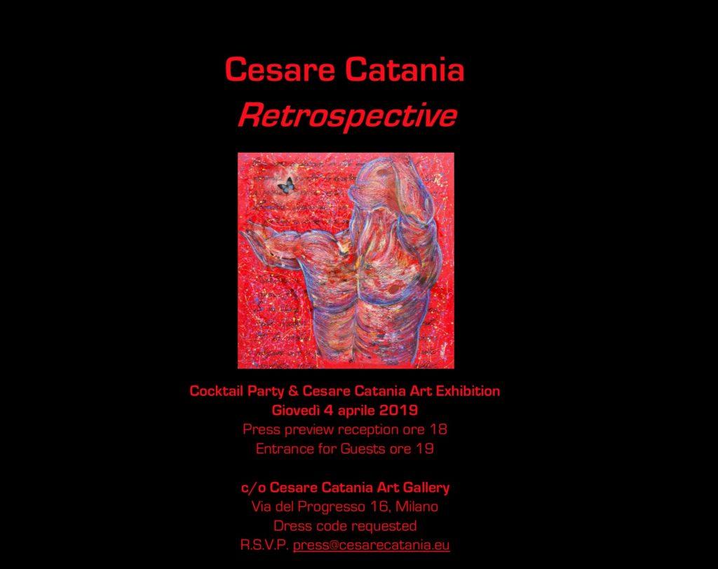 Cocktail party alla Cesare Catania Art Gallery