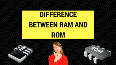 Differentiate Between Ram and Rom