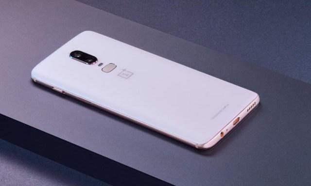 photos du OnePlus 6 Silk White