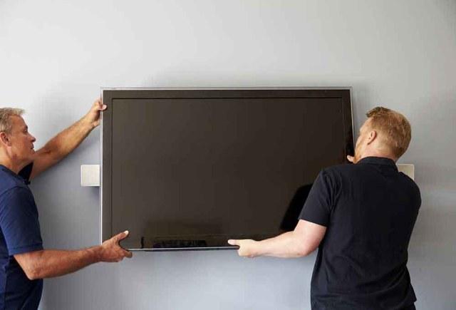 installer son TV mural
