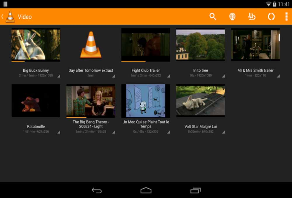 VLC version beta