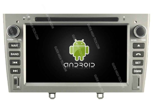 installation autoradio GPS Android