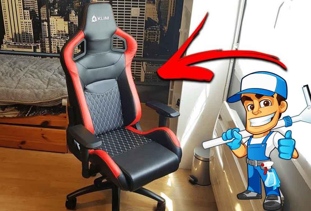 nettoyer une chaise gamer