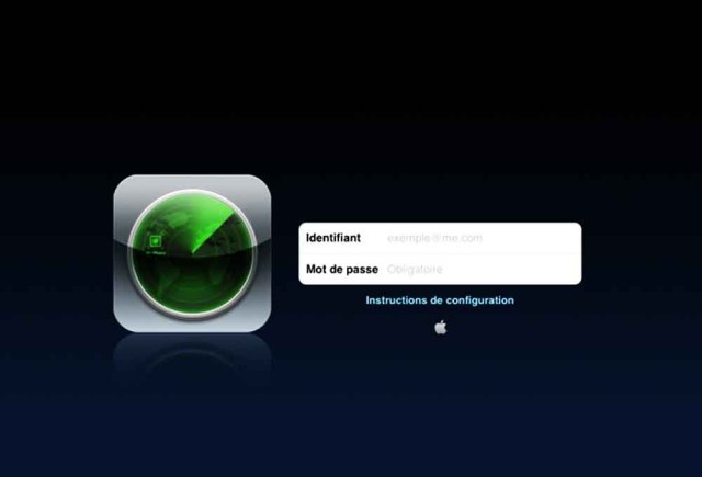 Localiser mon iPhone