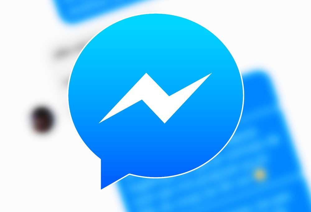 message via Messenger