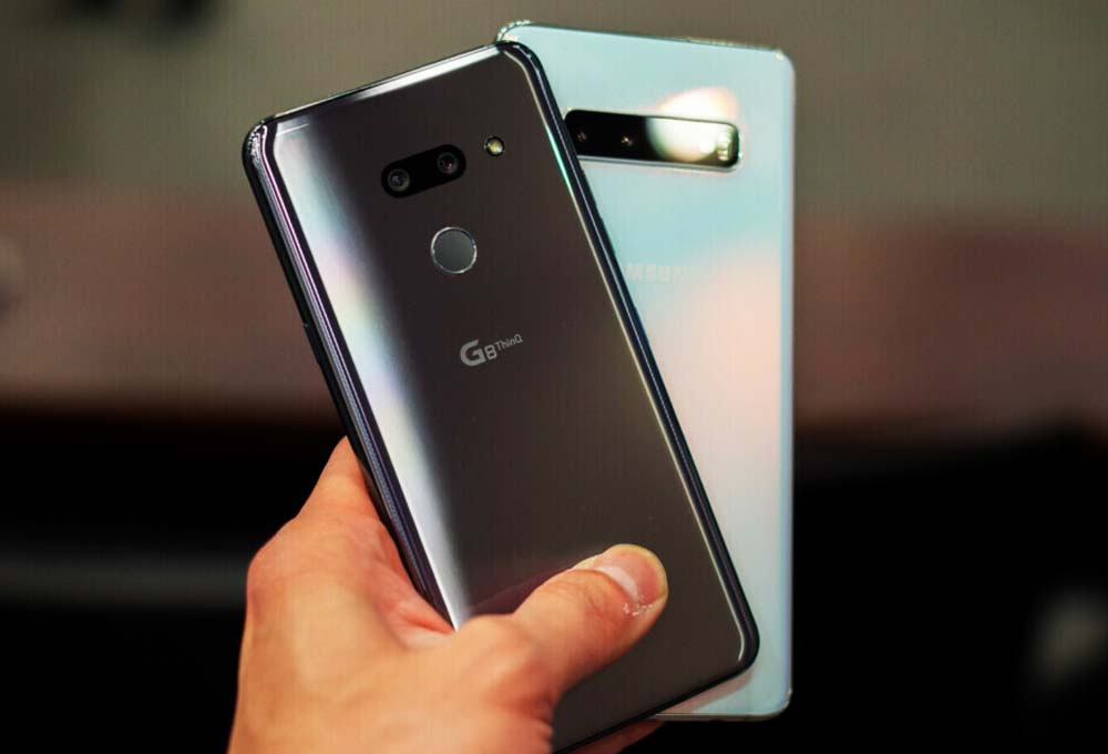 LG G8 Thinq VS Galaxy S10