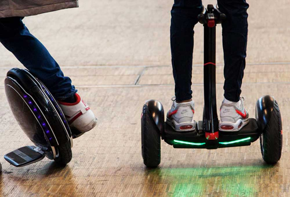 mobilité urbaine High tech