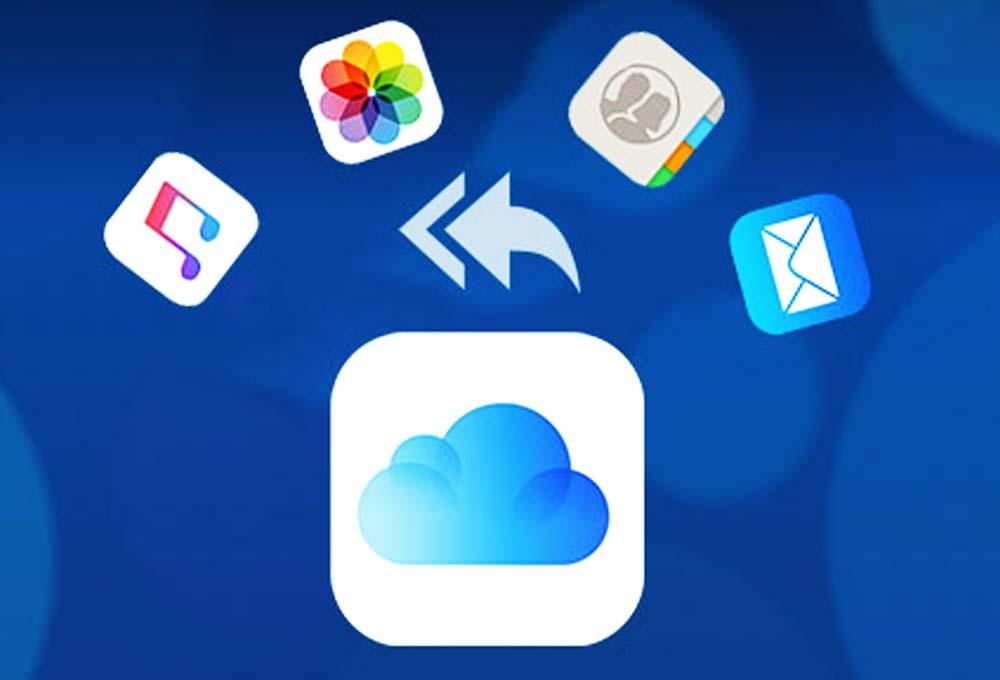 récupérer des données sur iCloud