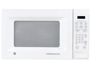 door is opened ge microwave oven
