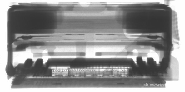 X-ray cross-section of the 8MP Sony camera