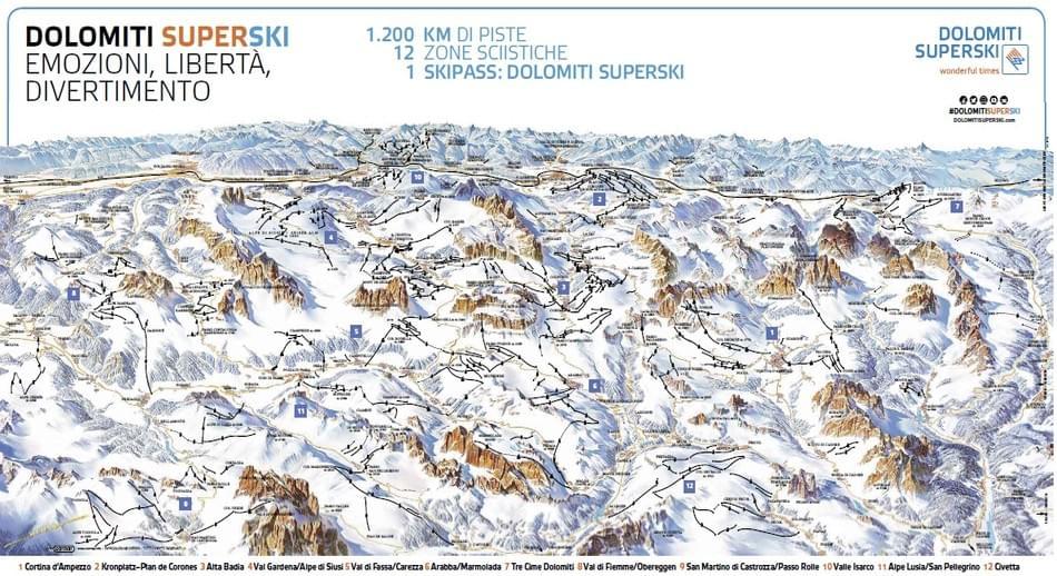 cartina-piste-sci-Dolomiti