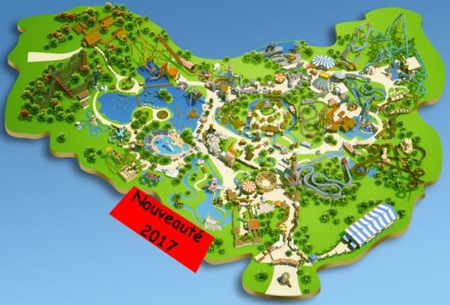 plan nouveauté 2017 parc astérix
