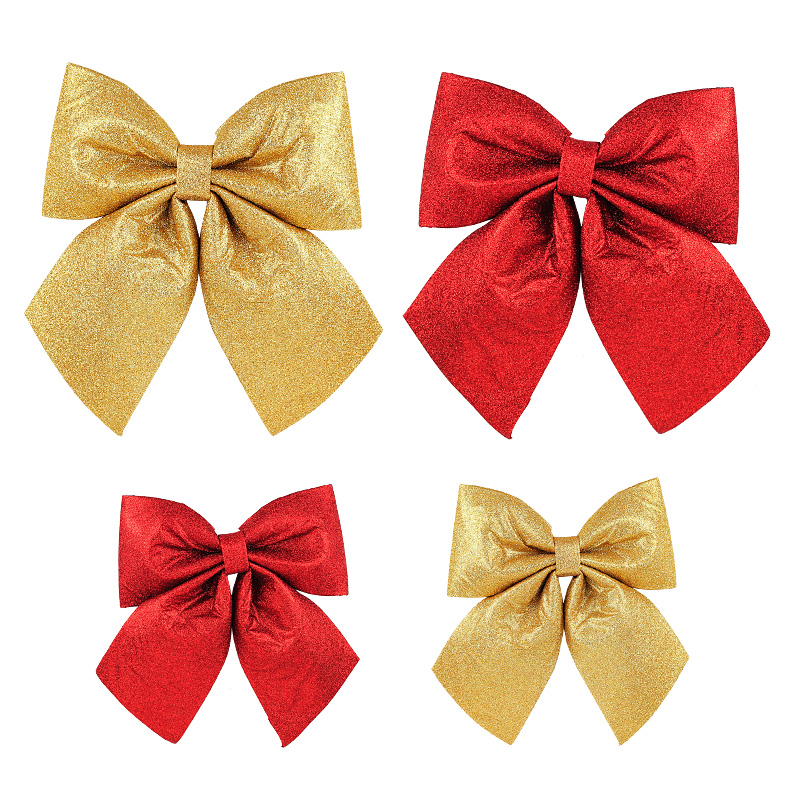 Christmas Tree Bows Decorations: Christmas Decorations Large Bows