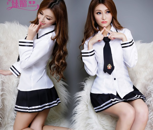 Buy Sexy School Uniforms School Uniforms Temptation Role Playing Suit Teen Sailor Skirt Women Sexy Lingerie Show 9419 In Cheap Price On Alibaba Com