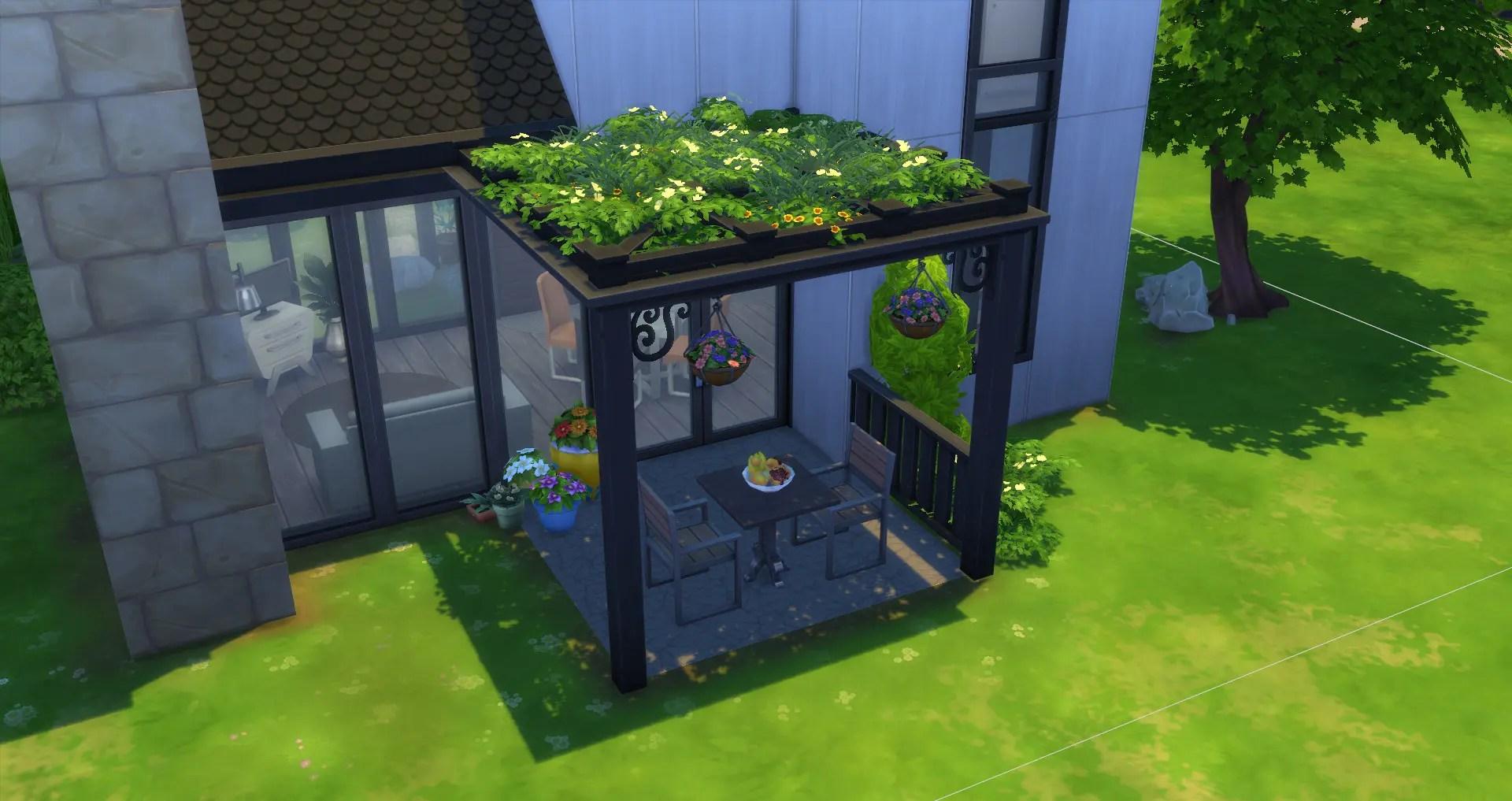 Creer Une Pergola Tutoriel Les Sims 4 Fezet