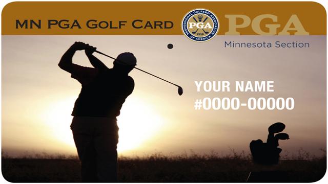 MN PGA Golf Card