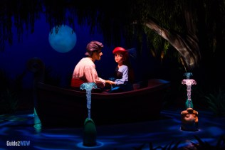 Kiss the Girl Scene - Journey of the Little Mermaid - Magic Kingdom Attraction