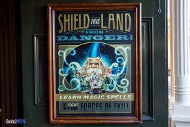 Shield this Land Poster - Sorcerers of the Magic Kingdom
