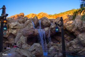 Rockwork - Journey of the Little Mermaid - Magic Kingdom Attraction