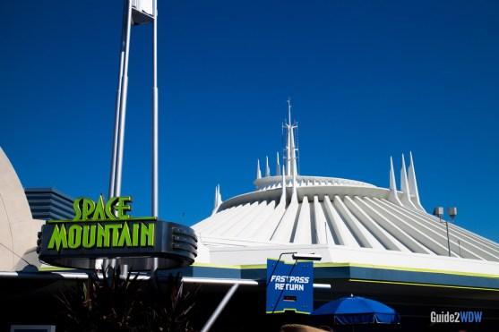 Space Mountain Exterior - Magic Kingdom Attraction