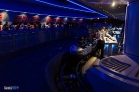 Space Mountain Ride Loading - Magic Kingdom Attraction