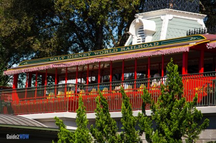 Walt Disney World Railroad - Magic Kingdom Attraction