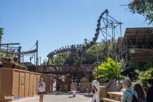 Boneyard - Animal Kingdom Attraction