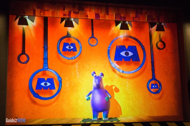 Buddy - Monsters Inc Laugh Floor - Magic Kingdom Attraction