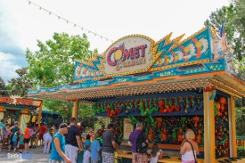 Comet Crasher - Fossil Fun Games - Animal Kingdom Attraction